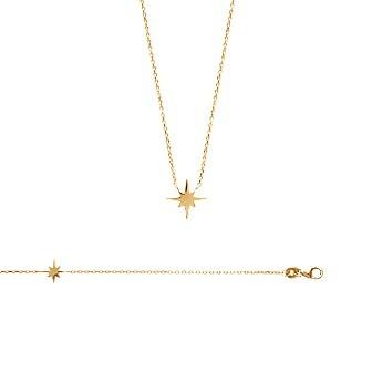 Bracelet/collier plaqué or 750/000 3 microns
