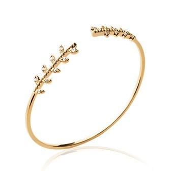 Bracelet plaqué-or 750/000 3 microns oz