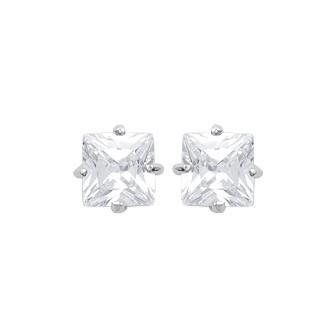 Boucles d'oreilles argent 925 rhodié oz