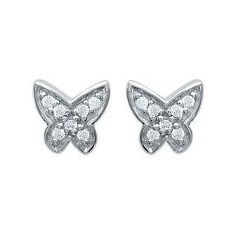 Boucles d'oreilles argent 925/000 rhodiée oz