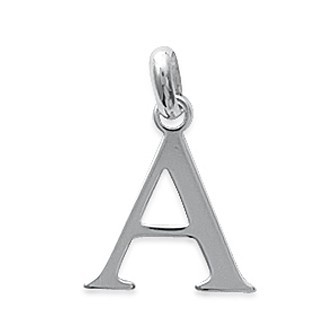 Pendentif argent 925/000 alphabet