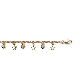 Bracelet plaqué-or 750/000 3 microns CJABGCBI
