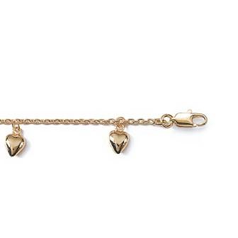 Bracelet plaqué-or 750/000 3 microns JAAGDDBI