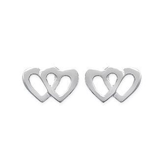 Boucles d'oreilles argent 925/000 rhodiée - HECDDG