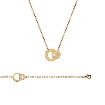 Bracelet femme plaqué-or 750/000 3 microns JCBBGEBI