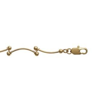 Bracelet plaqué-or 750/000 3 microns CJACDIBI