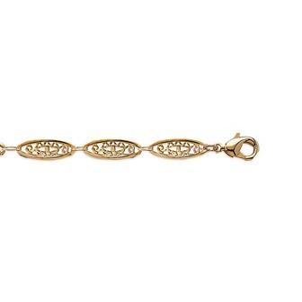Bracelet plaqué-or 750/000 3 microns