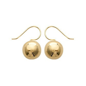 Boucles d'oreilles plaqué or 750/000 3 microns CEAGCAA