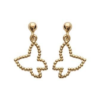 Boucles d'oreilles plaqué or 750/000 3 microns CEHHFAA