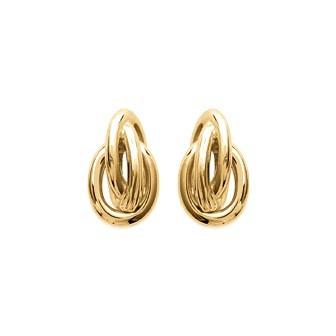 Boucles d'oreilles plaqué or 750/000