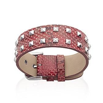 Bracelet acier 316 L cuir