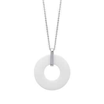 Collier acier 316 L céramique - DBAEIEEF