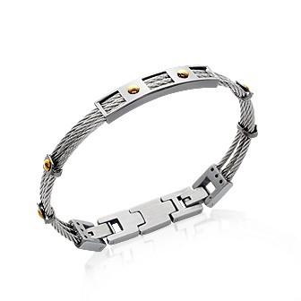Bracelet acier 316 L carbone