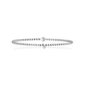 Bracelet argent 925/000 perle biwa IJBCICBI