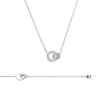 Collier argent 925/000 rhodiée