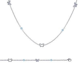 Collier argent 925/000 cristal