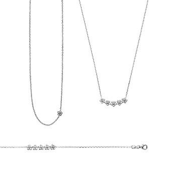 Bracelet argent 925/000 rhodiée femme oz