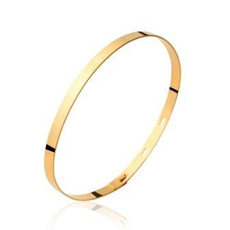 Bracelet plaqué-or 750/000 3 microns JCBDFEFG