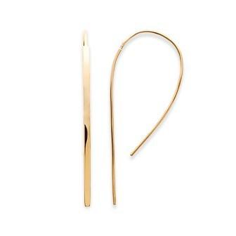 Boucle d'oreilles plaqué-or 750/000 3 microns