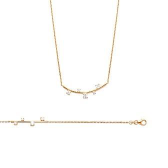 Bracelet femme plaqué-or 750/000 3 microns oz
