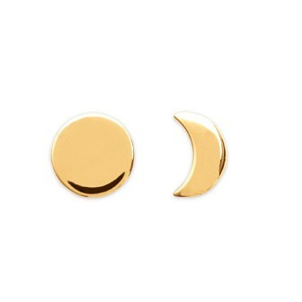 Boucle d'oreilles plaqué-or 750/000 3 microns CFEGHAA