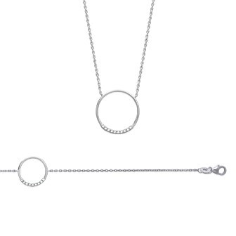 Collier argent 925/000 3 microns oz IHBJEBEF