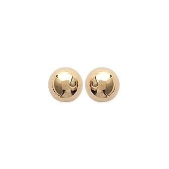 Boucles d'oreilles d'oreilles plaqué or 750/000 3 microns