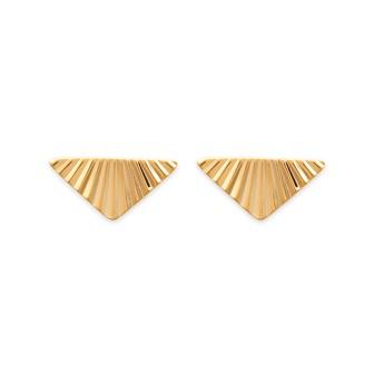 Boucles d'oreilles plaqué-or 750/000 3 microns -CFEIDAA