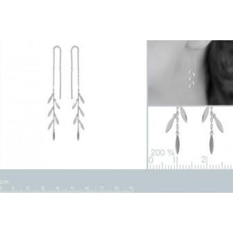 Boucles d'oreilles argent rhodiée 925/000 -HFEFIAA