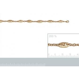 Bracelet femme plaqué-or 750/000 3 microns 90058221