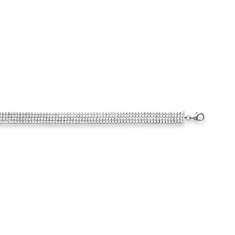Bracelet femme argent rhodiée 925/000 oz 873011