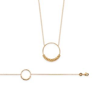 Bracelet femme plaqué-or 750/000 3 microns 92156018