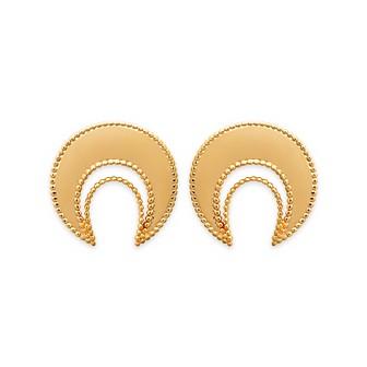 Boucles d'oreilles femme plaqué-or 750/000 3 microns 2551000
