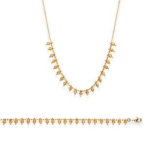 Bracelet femme plaqué-or 750/000 3 microns cristal 29092918