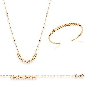 Bracelet femme plaqué-or 750/000 3 microns 92158118