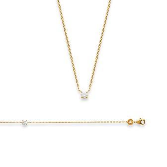 Bracelet femme plaqué-or 750/000 3 microns oz 97300418