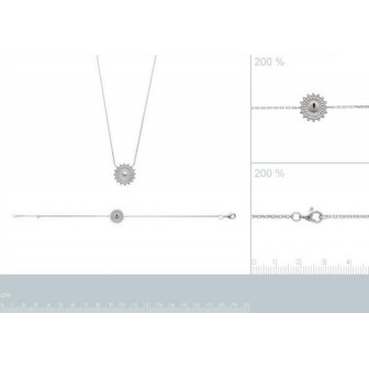 Bracelet argent rhodié 925/000 72164518