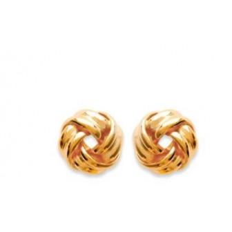 Boucles d'oreilles plaqué or 750/000 3 microns CEGBCI