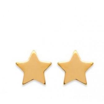 Boucles d'oreilles plaqué or 750/000 3 microns CEEBA