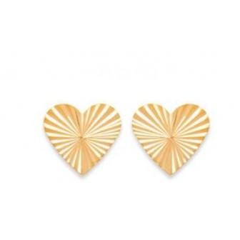 Boucles d'oreilles plaqué or 750/000 3 microns CGBAFH