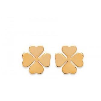 Boucles d'oreilles plaqué or 750/000 3 microns CEFBBAA