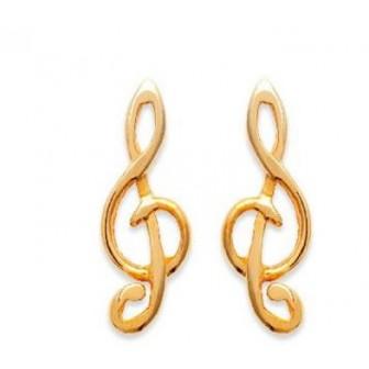 Boucles d'oreilles plaqué or 750/000 3 microns CAJBCFJH