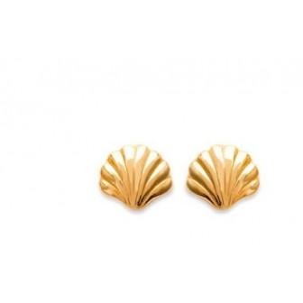 Boucles d'oreilles plaqué or 750/000 3 microns CEEGF