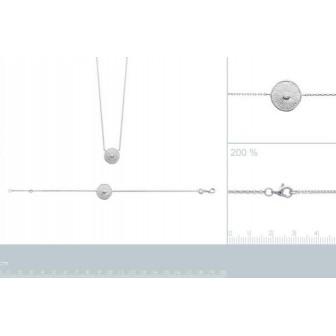 Bracelet argent rhodié 925/000 oz 87308818
