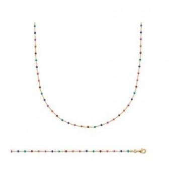 Bracelet plaqué-or 750/000 3 microns Email 29093518