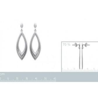 Boucles d oreilles argent 925/000 7554500