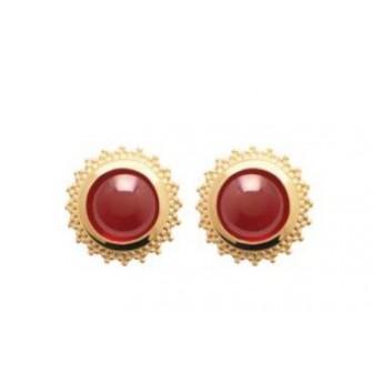 Boucles d oreilles plaqué or 750/000 3 microns 2558720