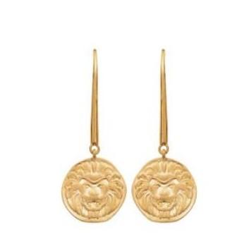 Boucles d'oreilles plaqué-or 750/000 3 microns 2560300