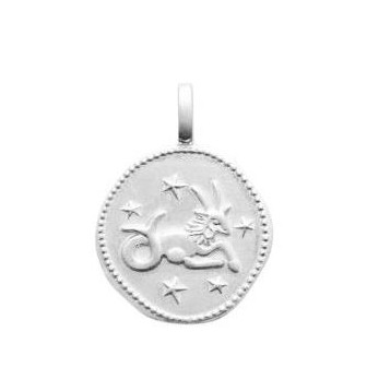 Pendentif argent 925/000 rhodié Capricorne 776960012