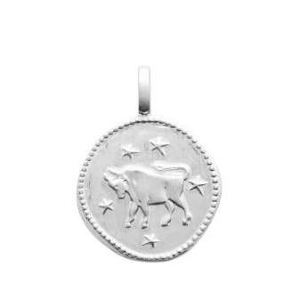 Pendentif argent 925/000 rhodié Taureau 77696004